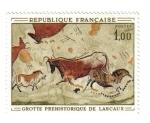 Sellos de Europa - Francia -  Gruta Prehistórica de Lascaut