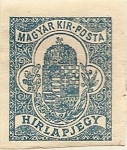 Stamps Europe - Hungary -  HIRLAPJEGY