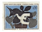 Stamps France -  Braque