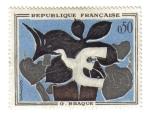 Sellos de Europa - Francia -  Braque