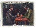 Sellos de Europa - Francia -  Cezanne