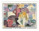 Sellos de Europa - Francia -  De La Fresnaye