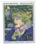 Stamps France -  Toulouse Lautrec