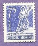 Sellos del Mundo : Asia : Indonesia : INTERCAMBIO
