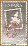 Stamps Spain -  Dia Mundial del sello - Paloma en sobre