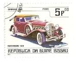 Stamps Guinea Bissau -  Automoviles de epoca. Duesenberg 1928.