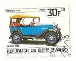 Stamps Guinea Bissau -  Automoviles de epoca. Datsun 1932.