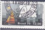 Sellos de America - Brasil -  Expo.Mundial de Filatelia