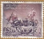 Stamps Spain -  Fuente de las Cibeles
