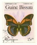 Sellos de Africa - Guinea Bissau -  Mariposas. Prepona praeneste,