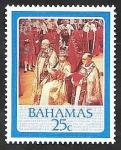 Stamps Bahamas -  591 - 60 Anivº de Elizabeth II