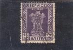 Stamps : Asia : India :  COLUMNA DE ASOkA
