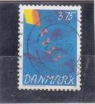 Sellos del Mundo : Europa : Dinamarca : COMETA