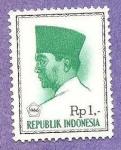 Sellos de Asia - Indonesia -  INTERCAMBIO