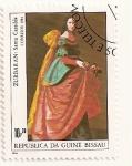 Stamps Africa - Guinea Bissau -  Pintores. Zurbaran (Santa Casilda)