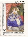 Stamps Africa - Guinea Bissau -  Pintores. Velazquez (Reina Mariana de Austria)