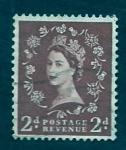Stamps United Kingdom -  Reyna Isabel  II