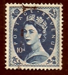 Sellos de Europa - Reino Unido -  Reyna Isabel  II
