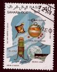 Sellos de Africa - Marruecos -  350 aniver.muerte GALILEO