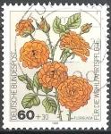 Sellos de Europa - Alemania -  Por el bienestar,Rosas-Floribunda.