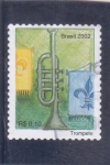 Stamps Brazil -  T R O M P E T A
