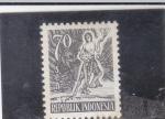 Stamps Indonesia -  I N D I G E N A