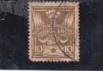 Stamps Czechoslovakia -  PALOMA MENSAJERA