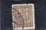 Sellos de Europa - Checoslovaquia -  E S C U D O