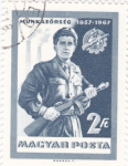 Stamps Hungary -  S O L D A D O