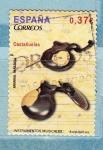 Sellos de Europa - España -  Castañuelas (860)