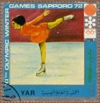 Stamps Yemen -  Xiº JUEGOS OLIMPICOS DE INVIERNO-SAPPORO'72
