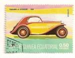 Stamps Equatorial Guinea -  Automoviles de epoca. Panhard & Levassor 1934.