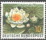 Sellos de Europa - Alemania -  Día de la Protección de la Naturaleza. Lirio de agua.
