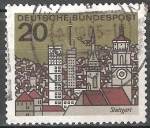 Sellos de Europa - Alemania -  Stuttgart.