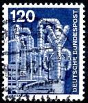 Stamps Germany -  ALEMANIA_SCOTT 1181 PLANTA QUIMICA. $0,3