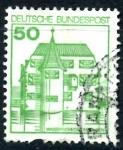 Stamps Germany -  ALEMANIA_SCOTT 1310 CASTILLO INZLINGEN. $0,2