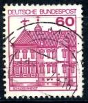 Stamps Germany -  ALEMANIA_SCOTT 1311.02 CASTILLO RHEYDT. $0,2