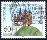 Sellos del Mundo : Europa : Alemania :  ALEMANIA_SCOTT 1443 CATEDRAL DE SAN JORGE, LIMBURG. $0,3