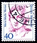 sello : Europa : Alemania : ALEMANIA_SCOTT 1479.02 MARIA SIBYLLA MERIAN. $0,2