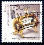 Stamps Germany -  ALEMANIA_SCOTT B670 RELICARIO DE ORO Y CRISTAL DE ROCA EN EL MUSEO DE COLONIA. $0,55