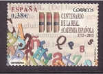 Stamps Spain -  Cent. R.A.E.