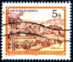 Stamps : Europe : Austria :  AUSTRIA_SCOTT 1288.01 ABADIA BENEDICTINA DE SAN PAUL, LAVANTTAL. $0,2