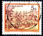 Stamps : Europe : Austria :  AUSTRIA_SCOTT 1288.02 ABADIA BENEDICTINA DE SAN PAUL, LAVANTTAL. $0,2