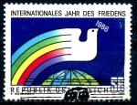 Stamps Europe - Austria -  AUSTRIA_SCOTT 1335 AÑO INTERNACIONAL DE LA PAZ. $0,55