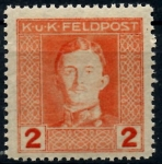 Stamps Europe - Austria -  AUSTRIA_SCOTT M50.01 EMPERADOR CARLOS I. $0,25