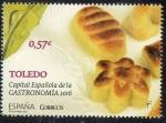 de Europa - España -  5023 - Toledo Capital de la Gastronomía 2016.