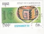 Sellos de Asia - Camboya -  ESPAMER'91