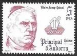 Stamps : Europe : Andorra :  131 - Obispo Josep Caixal