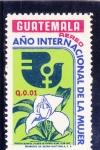 Stamps Guatemala -  AÑO INTERNACIONAL DE LA MUJER