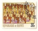 Sellos de Africa - Guinea -  Boy Scouts de Guinea